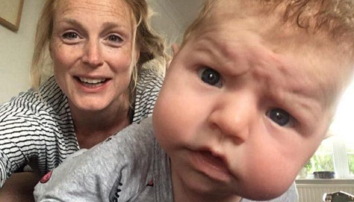 Фото на паспорт: выражение лица 3-месячного младенца стало символом 2020 года