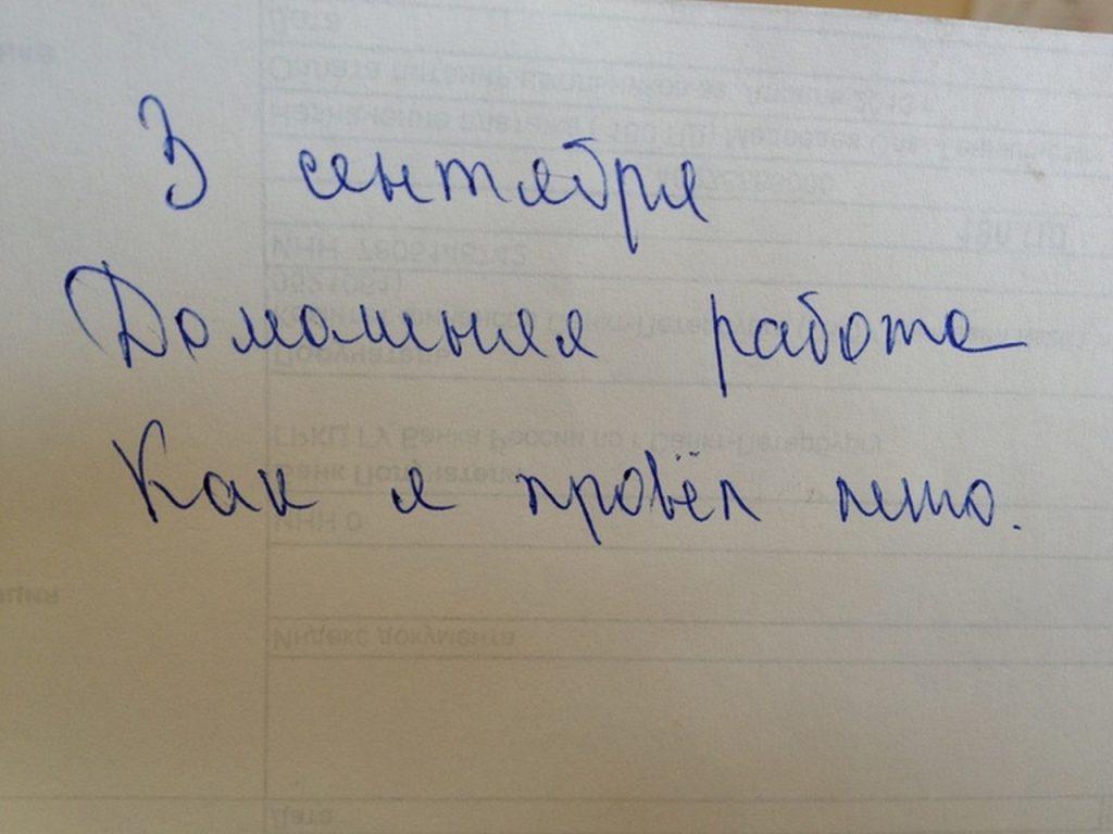 Сочинения на тему лета: что смешного пишут дети?