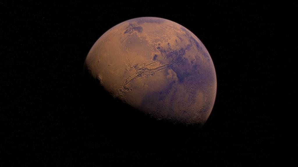 Изумрудный отблеск: в атмосфере Марса обнаружено зеленое свечение