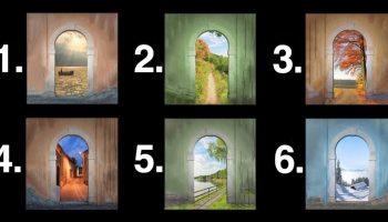 Тест: дверь, которую вы выберете, расскажет о вашем жизненном пути