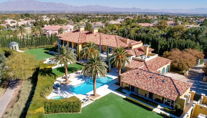 В гостях у миллиардера: 12 фото дома Стива Уинна стоимостью 25 миллионов долларов