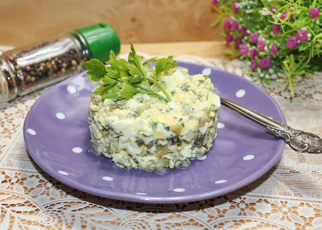 Просто и вкусно: рецепт салата с тертым кабачком и огурцами