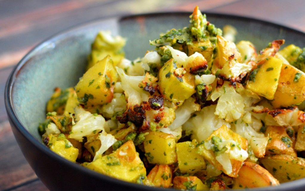 Фермерское рагу: домашний рецепт со стручковой фасолью и соусом песто