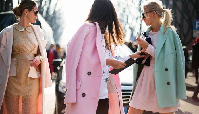 Нежные цвета в одежде: как сочетать и не выглядеть глупо
